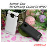 Ultra-Thin Power Battery Case for Samsung Galaxy S2 i9100 Black and White Color