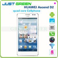 waterproof 3g smartphone huawei D2 ascend 1920x1080 441PPI quad core 1.5Ghz 2gb 16gb support wifi bluetooth g-sensor otg games