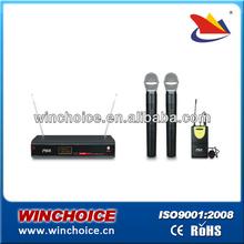 headset multi channel wireless microphone system