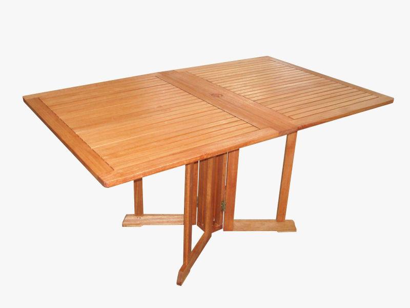 Rectangular folding wooden table buy outdoor folding - Folding dining table wood ...