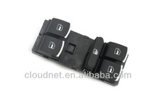Chrome Tip Driver Side Power Window Panel Master Switch For VW Volkswagen Passat B6