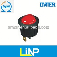 TOP Quality miniature kcd4 3 position rocker switch