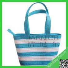 Fashionable 100% Handmad Corn Husk Straw Bag For Promotion