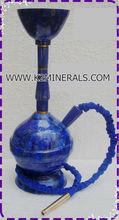 Lapis lazuli & Brass Hookahs & Shishas