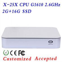 Mini-ITX Desktop Case ,gaming pc case dual core desktop pc 32bit Color Depth can Use for a long time !!