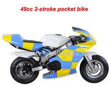 49cc 2-stroke pocket bike