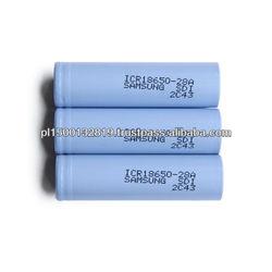 2800mah li-ion battery icr18650-28a battery cells 3.7v samsung sdi 18650