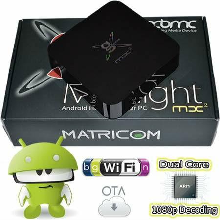 G Box Midnight MX2 Android 4 2 Jelly Bean Dual