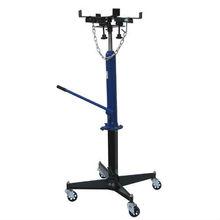 Transmission jack, 500kg, hand pump, adjustable saddle