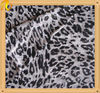 100% poly Leopard Printing chffion fabric