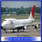 Class A air freight forwarders to South America