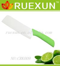 "6"" Colorful pp handle Vegetables ceramic knife"