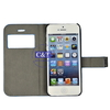 C&T elegant pu cover for iphone 4 leather case with strap