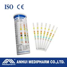 Urine test strips10 parameters