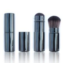 black aluminum handle good makeup retractable blush brushes