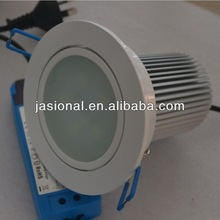 round recessed 21w led downlight led star shaped downlight