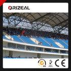stadium chair OZ-3027 Plastic seat for outdoor sportscenter