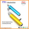 Most safe & health E cigarette Mobile power bank and e cig Multi-function colorful pattern mobile power bank and e cigarette YY1