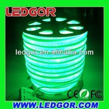 Outdoor Green Neon Flex Rope light IP65