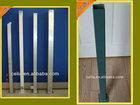 Galvanized fencing tube,Rectangular fence post,Decorative deck fence post