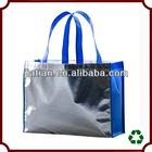 2014 wholesale non woven metallic beach bag