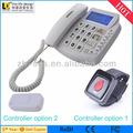 Gsm fixo wireness fonte grande SOS telefone como de longa distância dispositivo de escuta