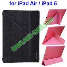 3 Folio Leather Flip Case for iPad Air/iPad 5