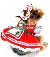 Pet Costumes Christmas Dress Dog Costume