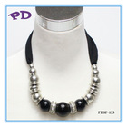Necklace Scarf Chunky Bead Fashion scarf necklace jewelry