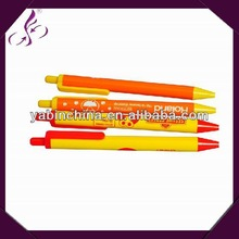 popular and lovely click non-transparent ball pen producer
