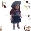 Handmade roupas de festa vestido de moda para boneca