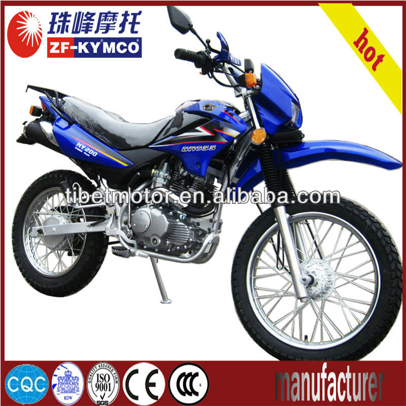 Hot-selling automatic gas-powered mini dirt bike for sale ZF200GY