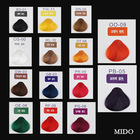 New fashion design professional iso hair color chart