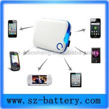 wholesale cheap mobile power bank for macbook pro /ipad mini 6000mah