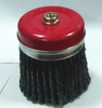 2013 china manufacture twist Knot Cup Brush With Bridle, Stainless Steel Wire