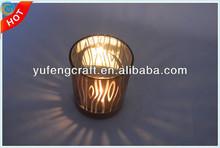 glass candle holder rangoli designs