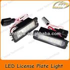 LED Rear License Plate Light for VW Golf 4/5/6 Eos Lupo Beetle Passat CC Phaeton Polo
