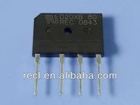 bridge rectifier full wave block rectifier regulator schematic GBJ 30A 200V