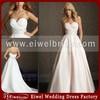 AL2510 2014 Fashion Trend Girl Ball Gown Sweetheart Puffy Skirt A Line Wedding Dress Pattern