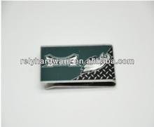 Custom wallet logo money clip for business men