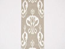 Ikat fabric cotton organic hand woven