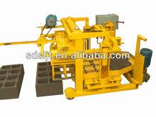 high profitable production line QTJ40-3A egg laying concrete hollow block machine.electric press machine