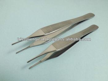 ADSON TISSUE TWEEZERS SET X 2, 15cm & 12 cm, Dressing Tweezers, Tissue forceps
