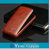 Mobile phone filp leather case, pu cover for iphone 5c Made in China