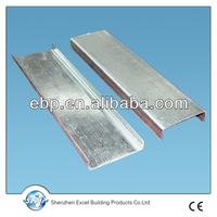 galvanized steel profiles for plasterboard panels
