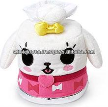 Child room tissue case / Dog tissue case / Character animal tissue case