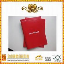 Good quality decorative design book printing