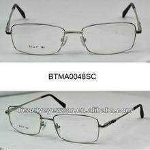 Slim high quality stainless steel Designer Eyeglasses Frame