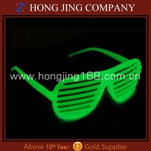 Glow shutte sunglasses for party