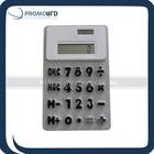 rubber key calculator silicon key calculator